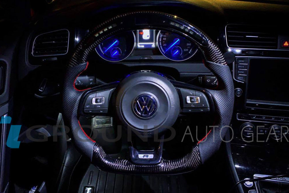 VW GOLF MK7 R/GLI/GTI OHC MOTORS | LED STEERING WHEEL (CORE)