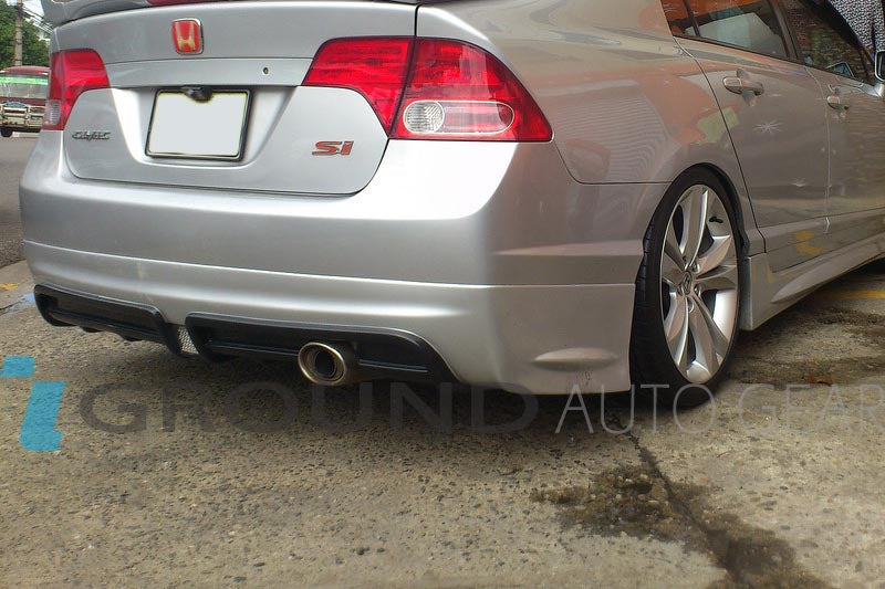 06-11 CIVIC 4DR | MUGEN RR REAR LIP USDM