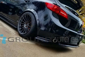 10-13 MAZDA 3 5DR MAZDASPEED3 | MS REAR LIP (DUAL EXHAUST)