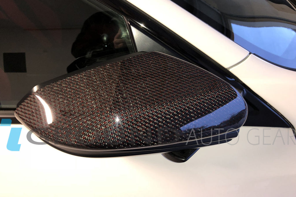 16-19 CIVIC | SIDE MIRROR COVER CF (PAIR)