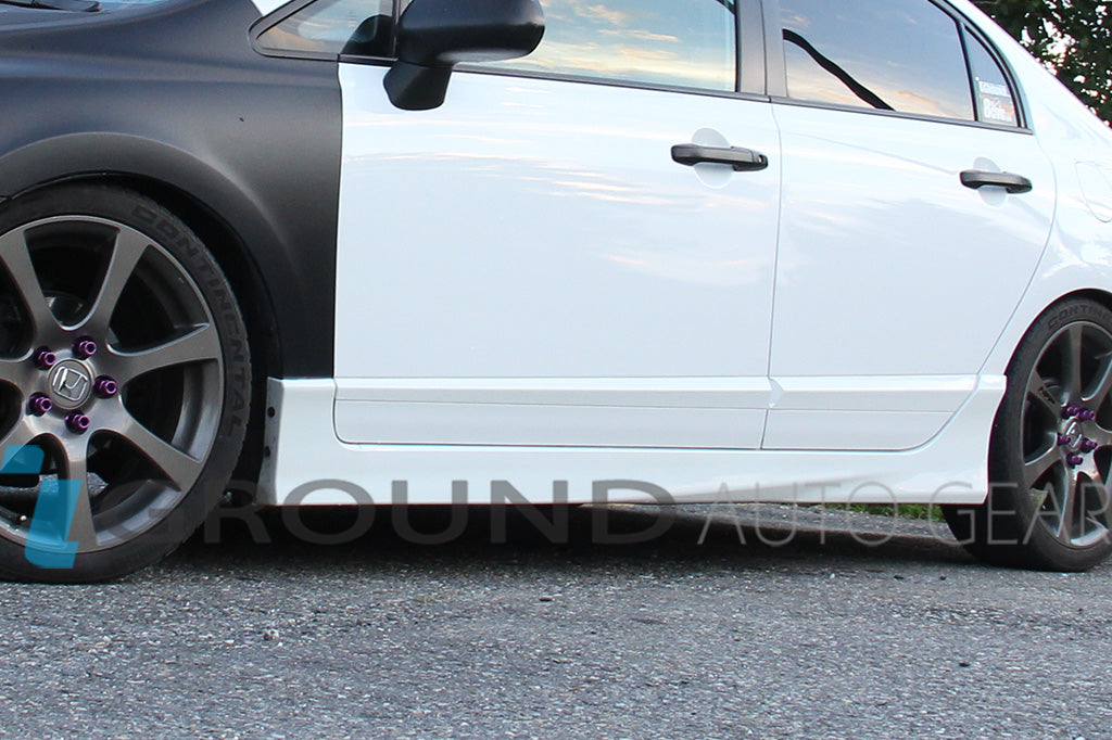 06-11 HONDA CIVIC CSX 4DR | TYPE-R SIDE SKIRTS