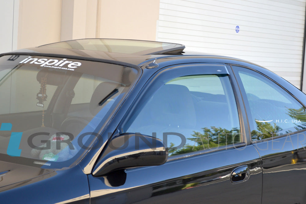 OB 96-00 CIVIC 2/3DR | HIC WINDOW VISORS