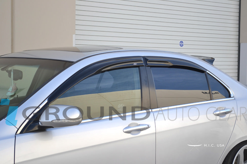 OB 04-08 TSX | HIC WINDOW VISORS