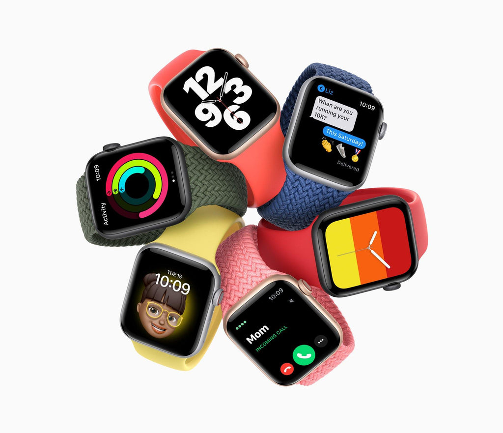 Apple announces New Apple Watch SE. The Ultimate Value.