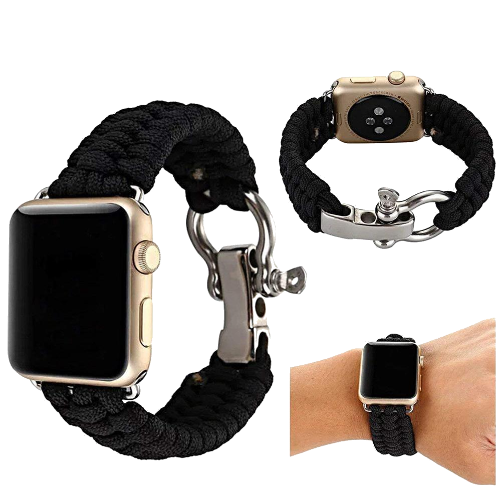 Functional Nylon Rope Band Straps for Apple Watch - FancyBands.co