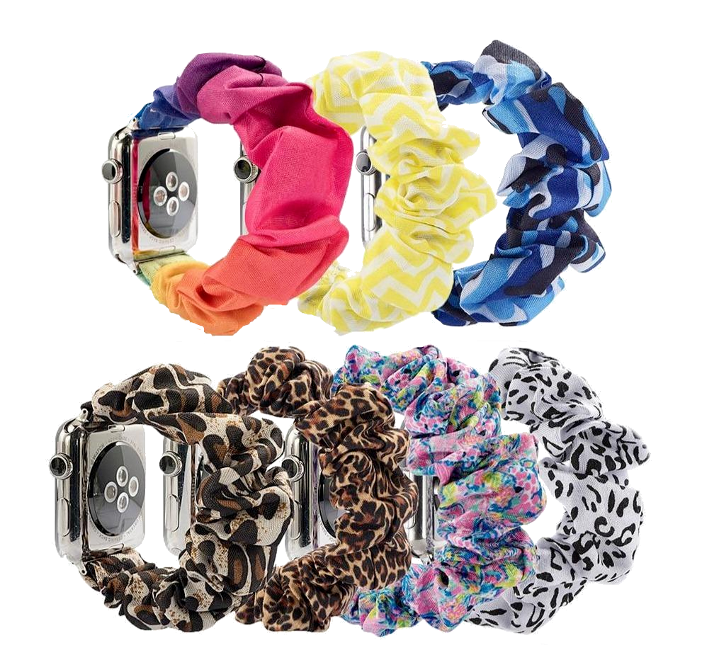 Scrunchie Apple Watch Band - FancyBands.co