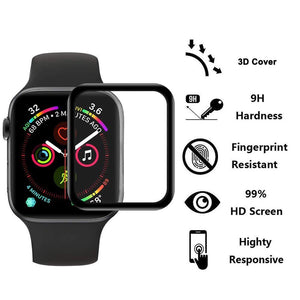 Tempered Glass Screen Protector Film Case for Apple Watch - FancyBands.co