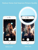Load image into Gallery viewer, LED Selfie Ring Light for Smartphones & Tablets - FancyBands.co