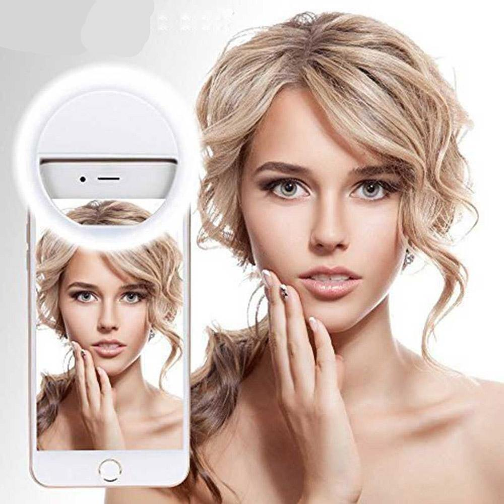 LED Selfie Ring Light for Smartphones & Tablets - FancyBands.co