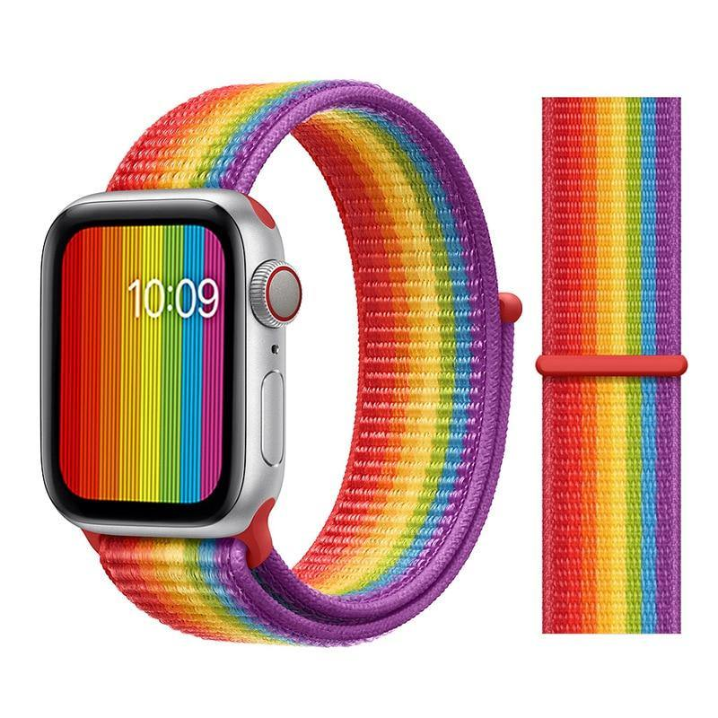 Pride Edition Nylon Band with Velcro for Apple Watch - FancyBands.co