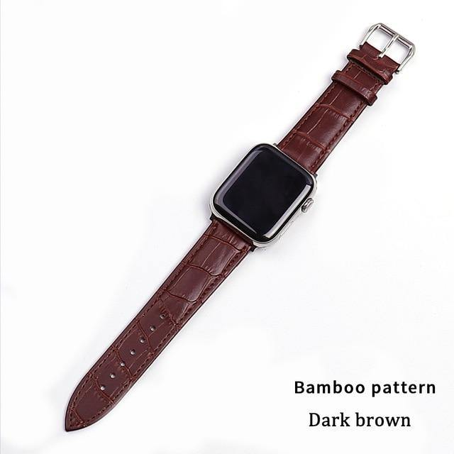 Leather Apple Watch Band - Fancy Bands