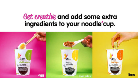 Itsu Cup Recipe ideas
