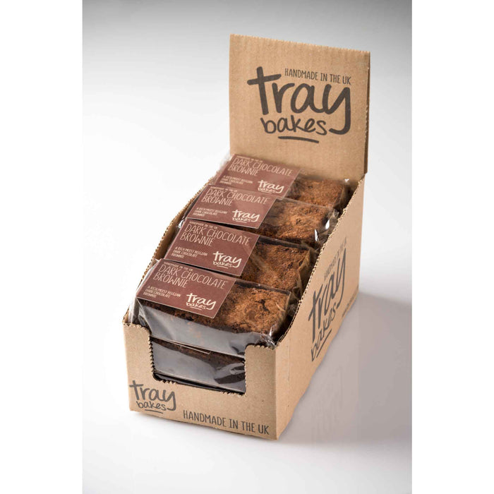 Traybakes - Luxury Handmade Slices - Chocolate Brownie (12/case)