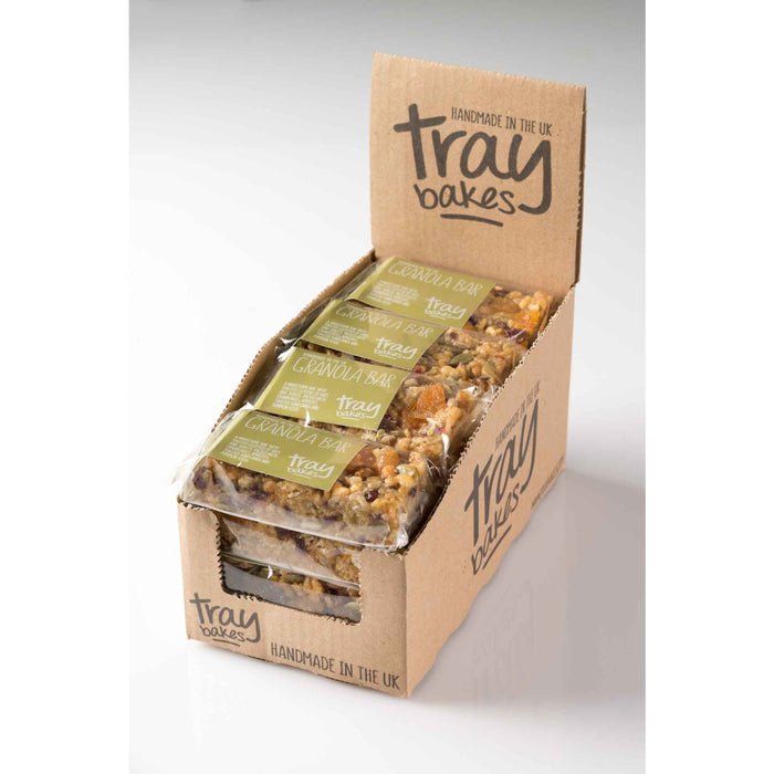 Traybakes - Luxury Handmade Slices - Granola Bar (12 slices)