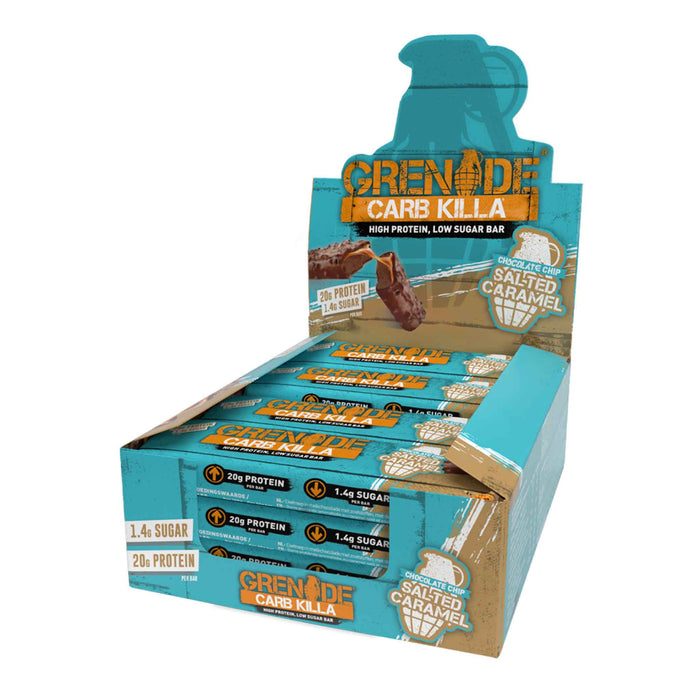 Grenade - Carb Killa High Protein Bar - Salted Caramel (12 x 60g)