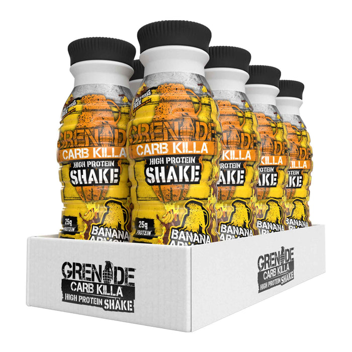 Grenade - Carb Killa Protein Shakes - Banana Armour (8 x 330ml)