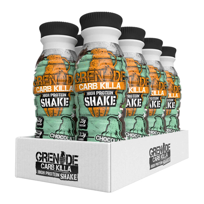 Grenade - Carb Killa Protein Shakes - Chocolate Mint (8 x 330ml)