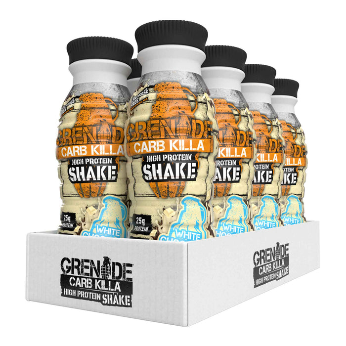 Grenade - Carb Killa Protein Shakes - White Chocolate (8 x 330ml)