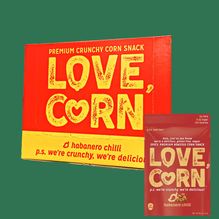 Love Corn - Habanero - Roasted Corn Snacks