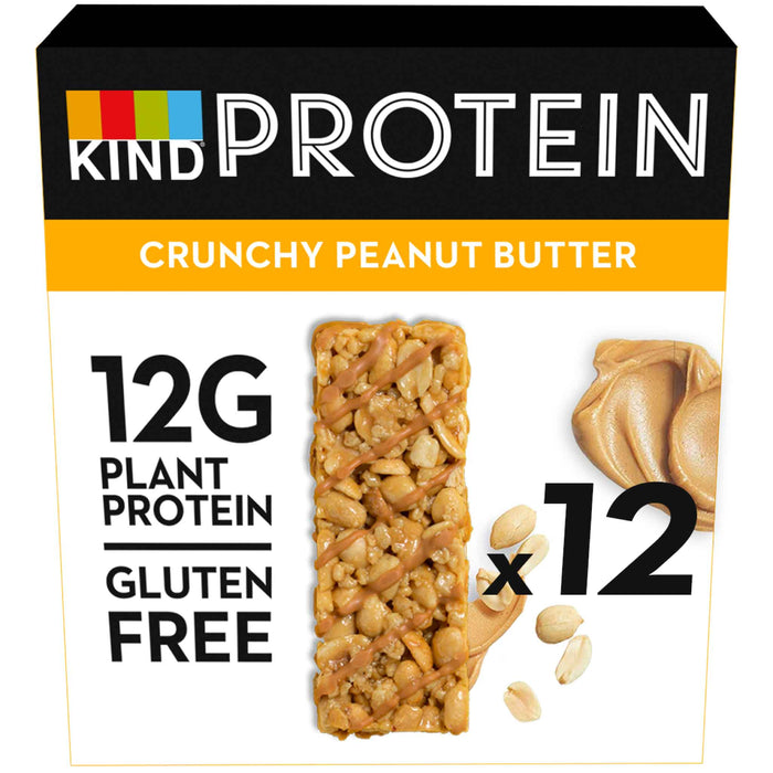 KIND Snacks - Whole Nut Protein Bars - Crunchy Peanut Butter