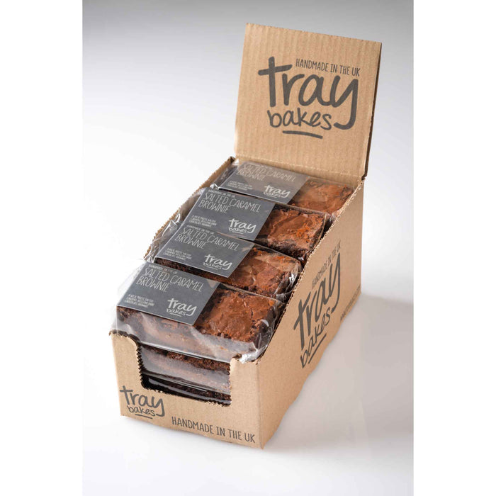 Traybakes - Luxury Handmade Slices - Salted Caramel (12 slices)