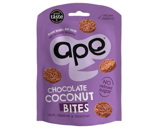 Ape - Coconut Snacks - Chocolate (10 x 26g)