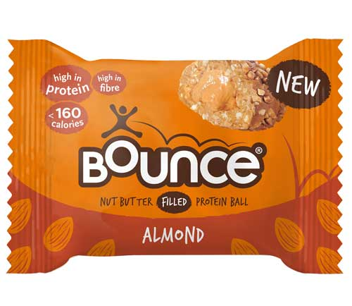 Bounce - Nut Butter Filled Protein Balls - Almond (12 x 35g)