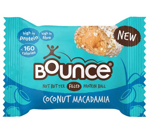Bounce - Nut Butter Filled Protein Balls - Coconut & Macadamia (12 x 35g)