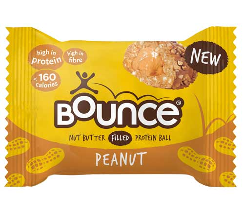 Bounce - Nut Butter Filled Protein Balls - Peanut (12 x 35g)
