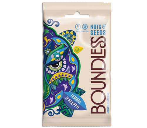 Boundless - Activated Nuts & Seeds Mix - Tamari & Aleppo (12x30g)