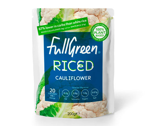 Fullgreen - Microwaveable Cauliflower Rice (6 x 200g)