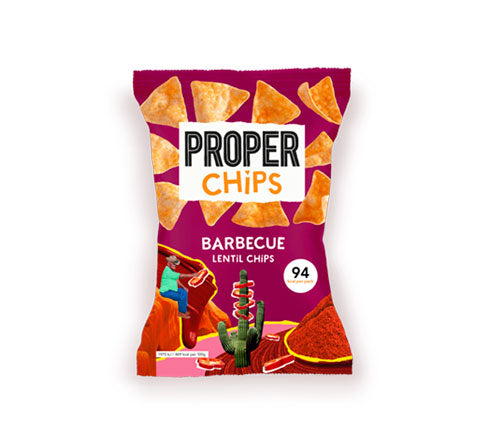 Properchips - Lentil Chips - BBQ