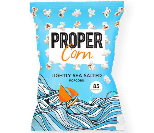 Lightly Sea Salted (8 x 70g Bags)