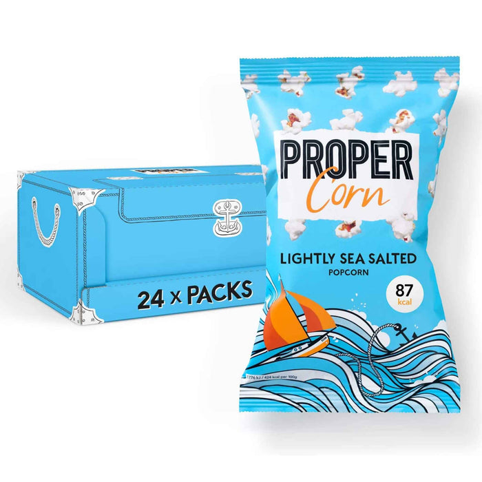 Propercorn - Flavoured Popcorn - Lightly Sea Salted