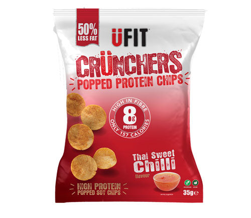 UFIT - Protein Crisps - Sweet Chilli Crunchers (11 x 35g)