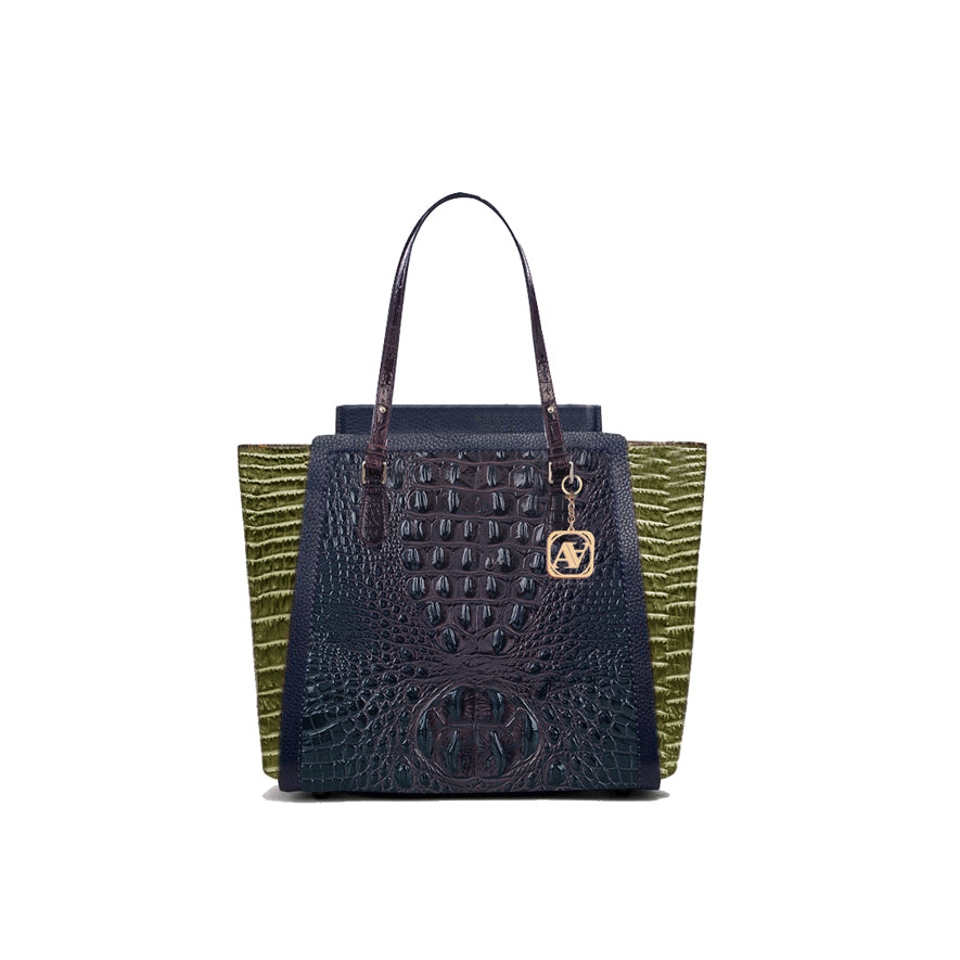 Anaya Boston Handmade Crocodile Leather Women's Tote