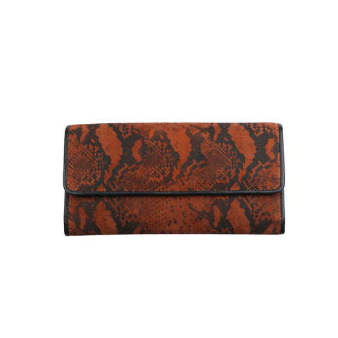 Anaya Boston Handmade Brown Helga Clutch - anayabags
