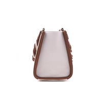 Anaya Boston Handmade Bordered Leather Bag - anayabags