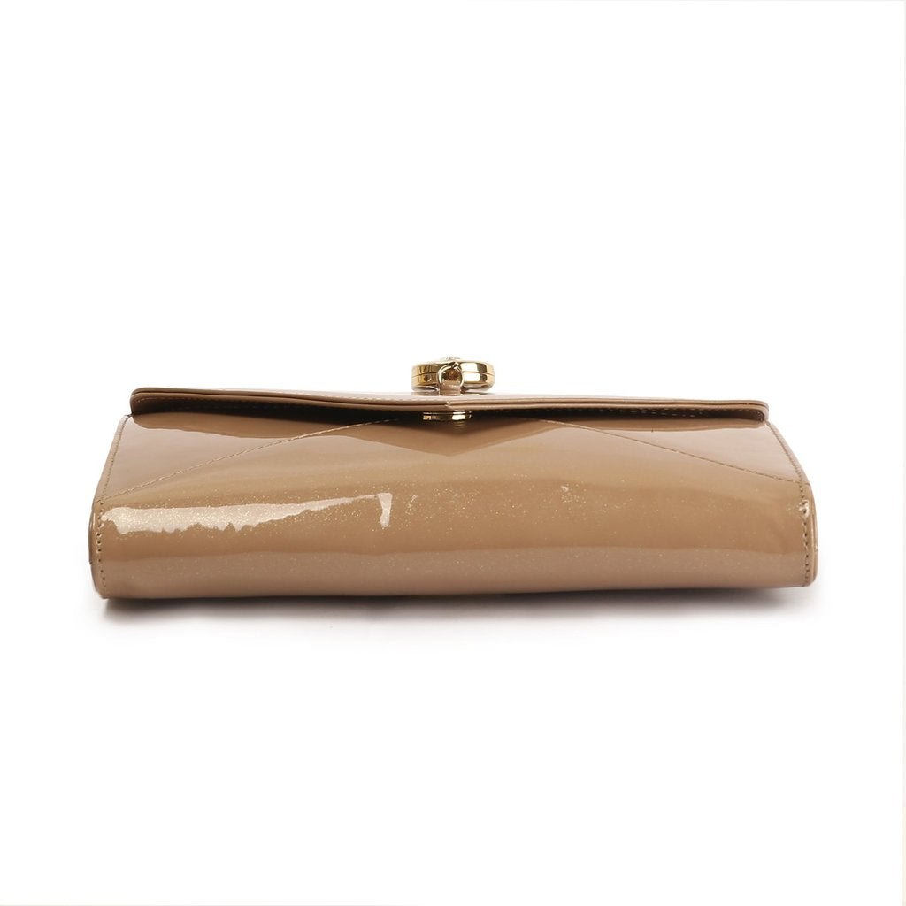 Anaya Boston Handmade Glare Style Leather Clutch - anayabags