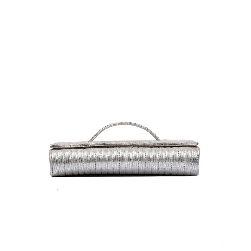 Anaya Boston Handmade Leather Glitzer Clutch - anayabags