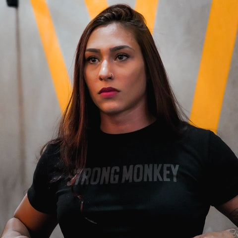 CAMISA FEMININA STRONG MONKEY - STEALTH