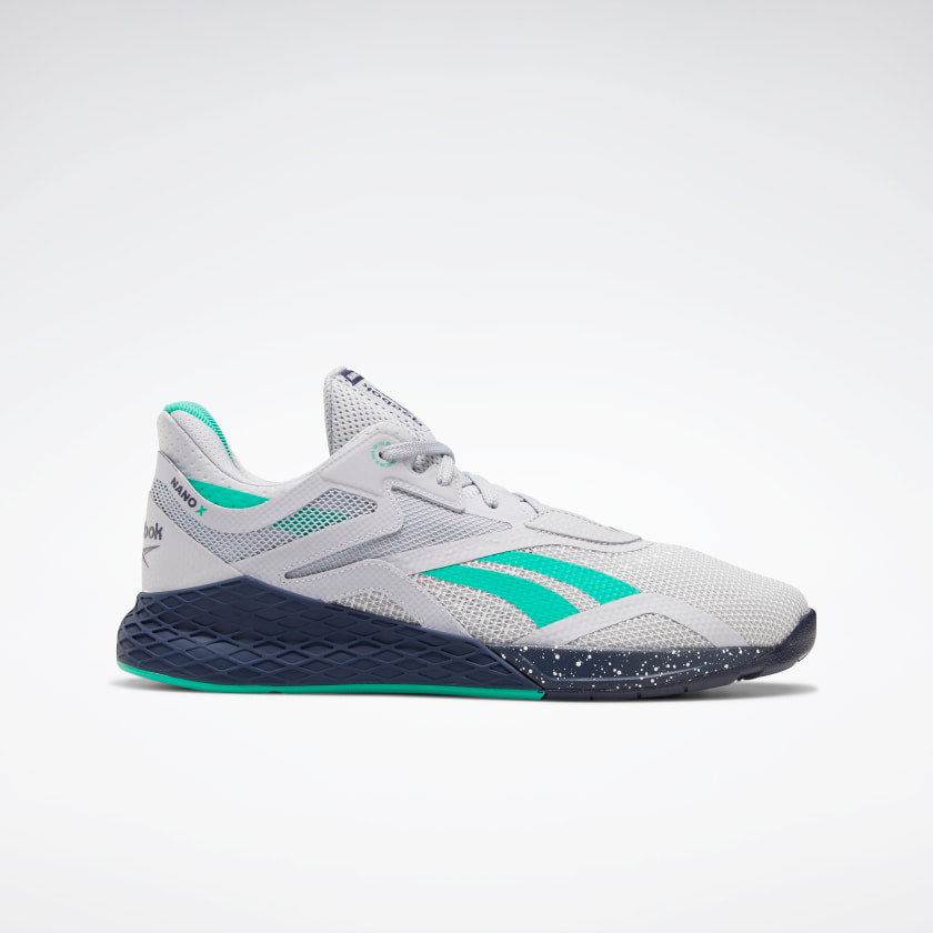 TÊNIS REEBOK NANO X - COLD GREY 2/VECTOR NAVY/WHITE
