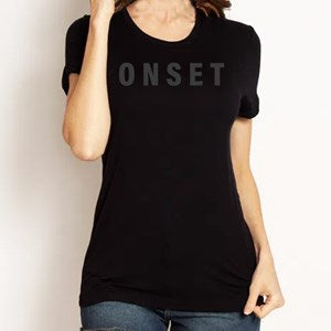 CAMISA FEMININA ONSET FITNESS - STEALTH