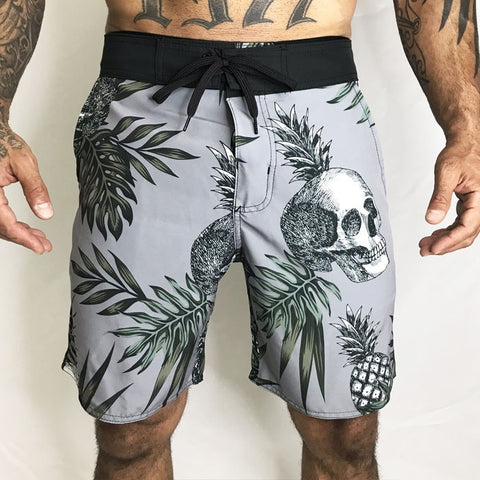 BERMUDA ONSET FITNESS CROSS - PINEAPPLE SKULL
