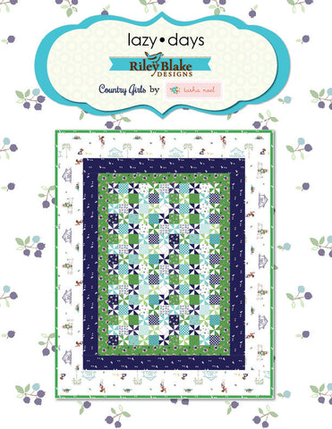 Country Girls Lazy Days Free Downloadable Pattern