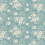 Cabbage Rose Libby Teal by Tilda