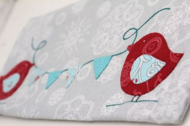 Applique Club Birdie Pencil case