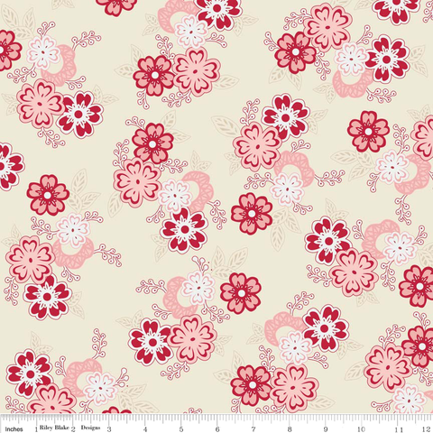 Raspberry Parlour by Sue Daly C4050 Cream
