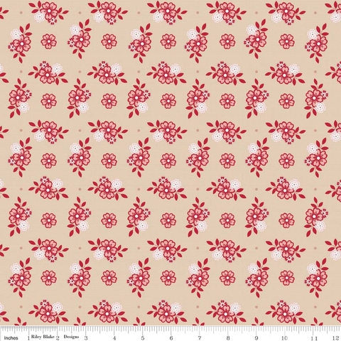 Raspberry Parlour by Sue Daly C4052 Cream