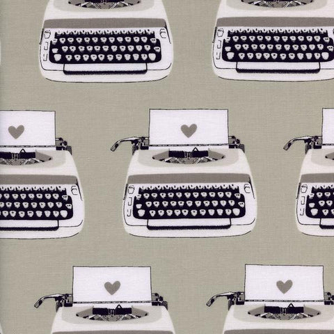 Typewriters - Cotton and Steel Black and White